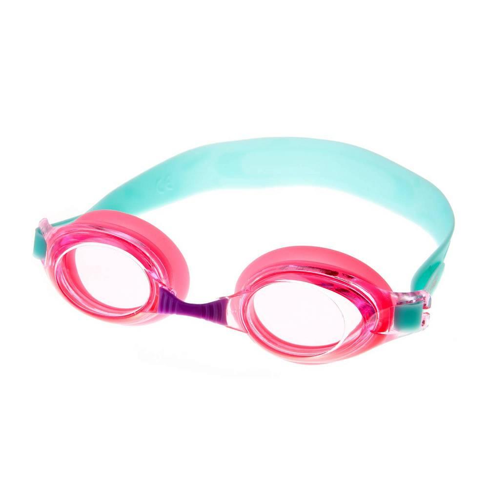 Очки для плавания Alpha Caprice KD-G25, KD-G25-04, розовый, голубой