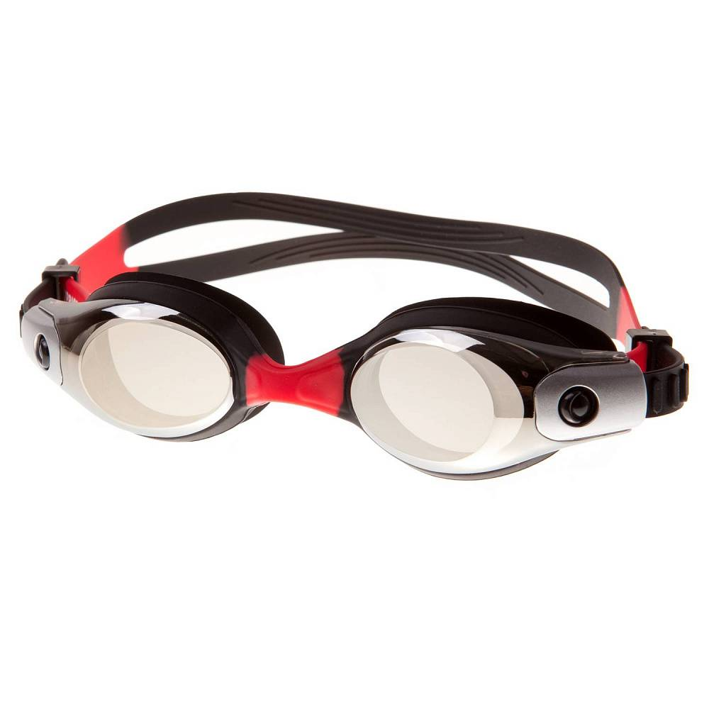 Очки для плавания Alpha Caprice KD-G45, KD-G45-04, черный, розовый цена