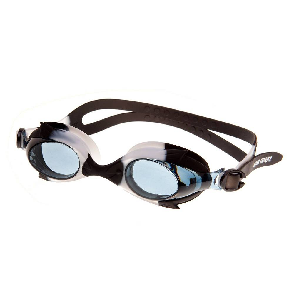 Очки для плавания Alpha Caprice KD-G40, KD-G40-02, черный цена