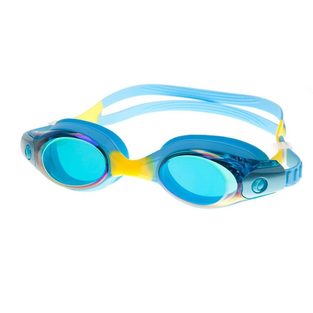 Очки для плавания Alpha Caprice KD-G45, KD-G45-01, синий цена