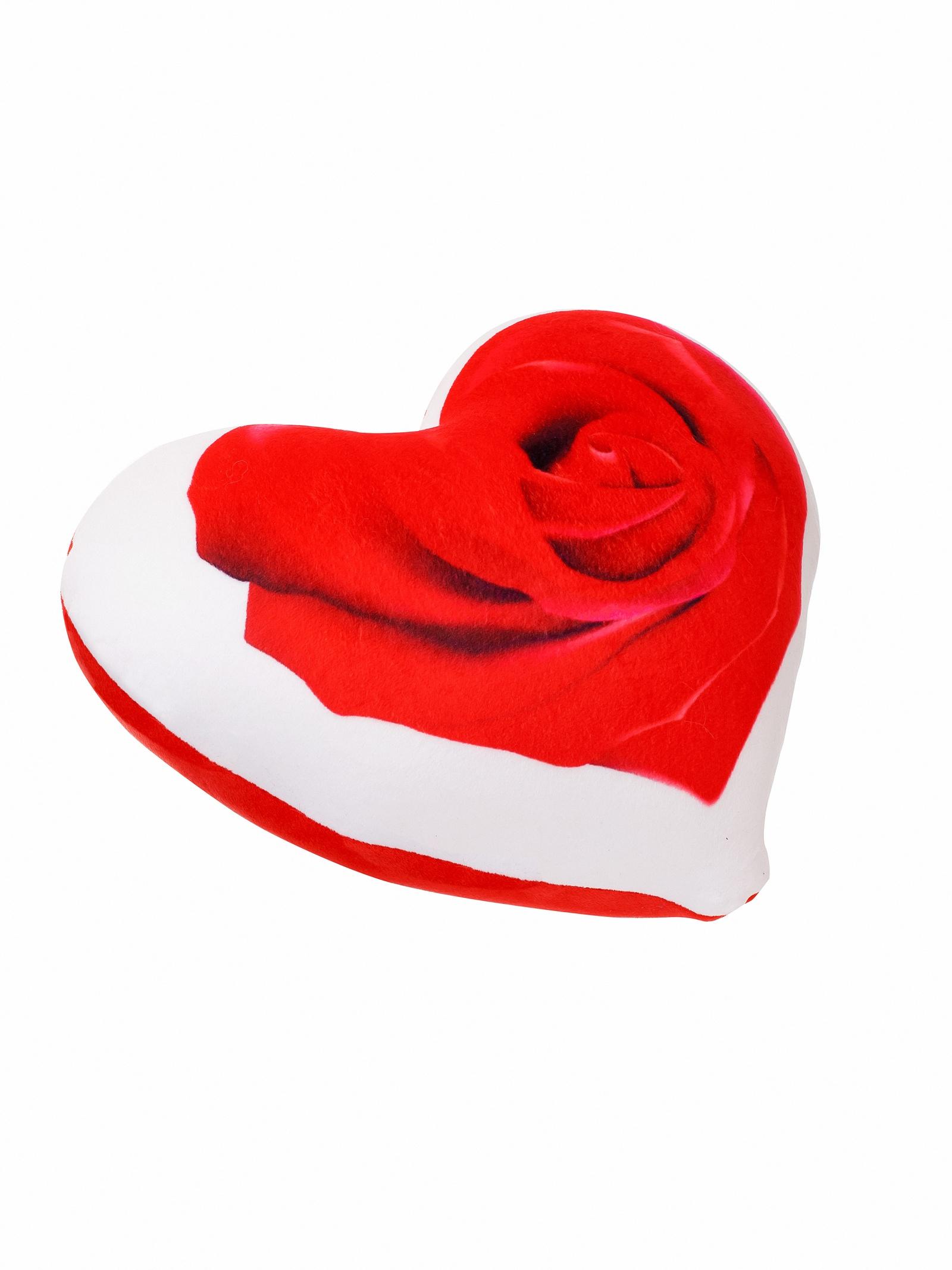 Мягкая игрушка СмолТойс Подушка игрушка сердце антисресс в 30, 4126-1/КР-1/30 красный