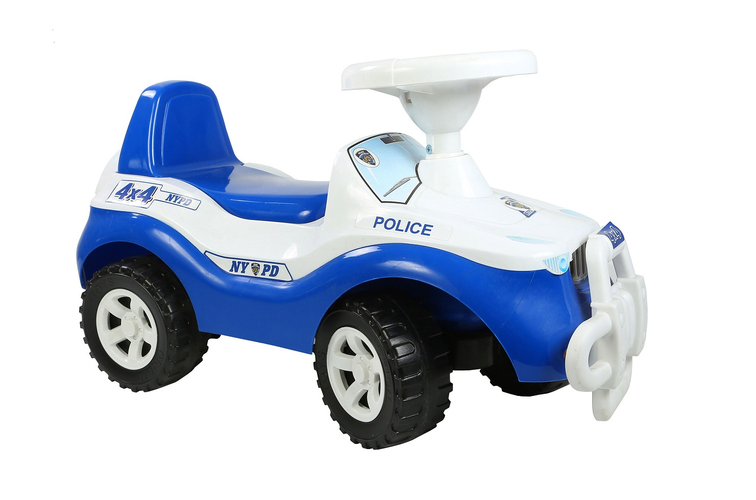 Каталка ORION TOYS Машина 105 белый, синий