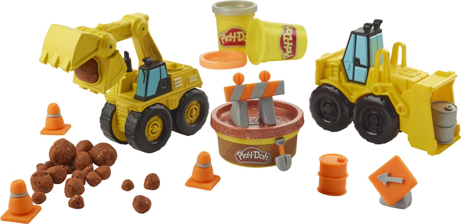 "Набор для лепки Play-Doh Wheels ""Экскаватор"""