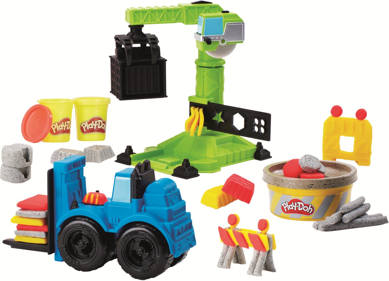 """Набор для лепки Play-Doh Wheels """"Кран-погрузчик"""""""