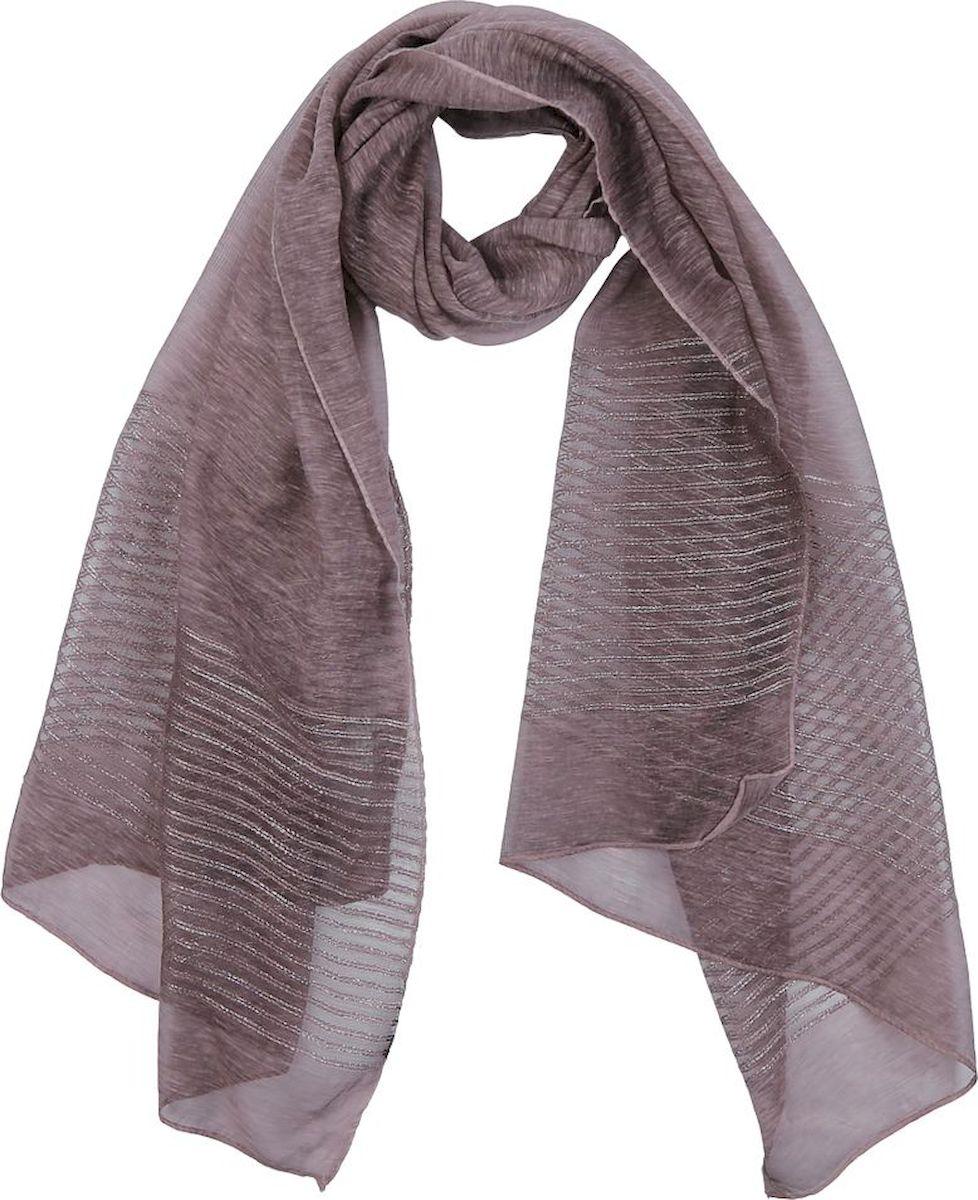 Шарф женский Fabretti, цвет: темно-розовый. QF005-4. Размер 190 см х 70 см шарф женский sophie ramage цвет синий розовый зеленый yy 21402 3 размер 60 см х 180 см
