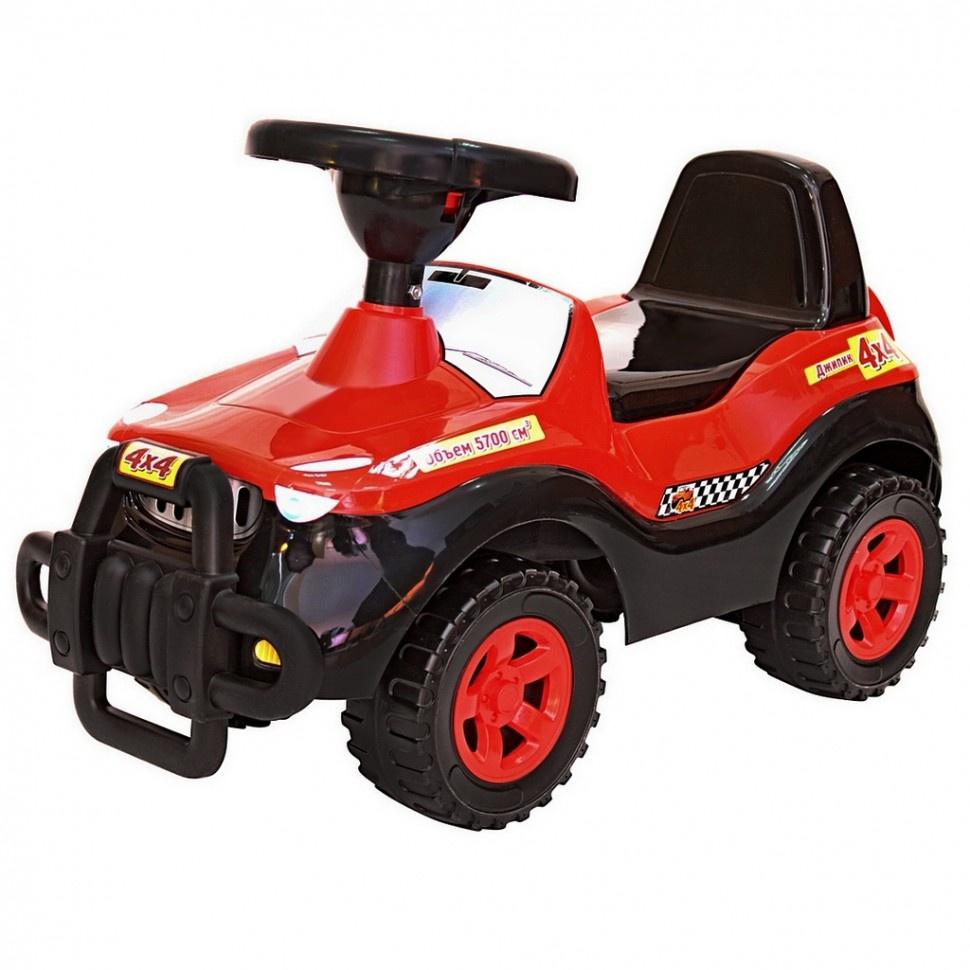 Каталка ORION TOYS Машина 105, 1018139 черный, красный