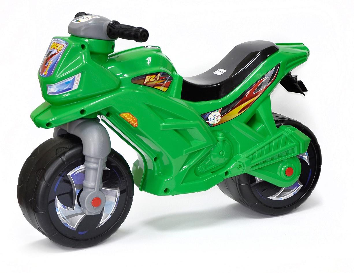 Каталка ORION TOYS Мотоцикл 501, 1134449 зеленый