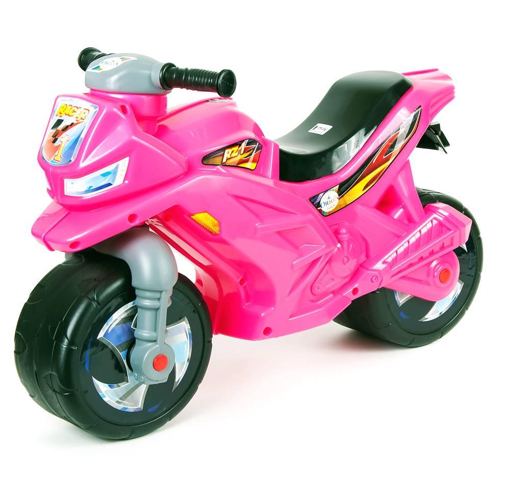 Каталка ORION TOYS Мотоцикл 501 розовый