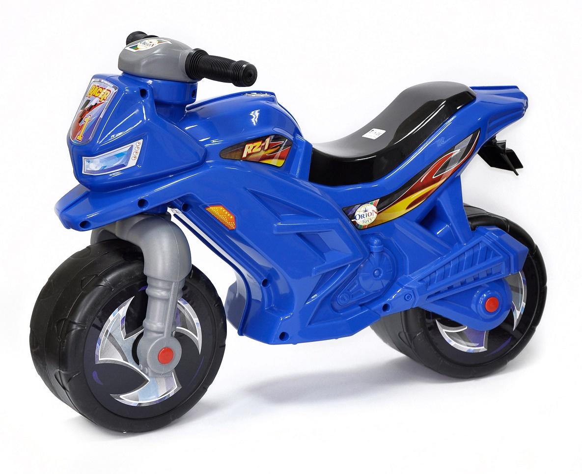 Каталка ORION TOYS Мотоцикл 501 синий