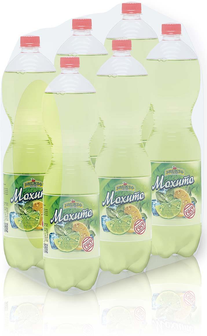Лимонад Fruktomania, мохито, 6 шт по 1,5 л лимонад fruktomania лимонад оригинальный 6 шт по 1 5 л