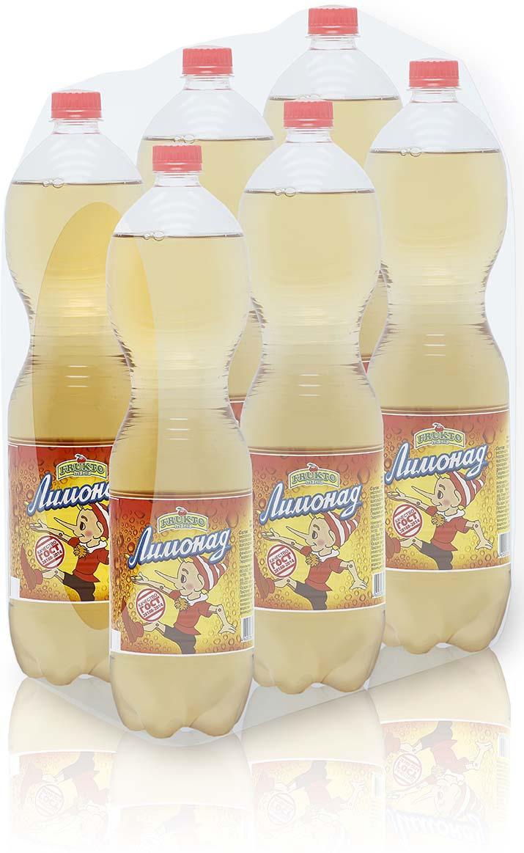 Лимонад Fruktomania, лимонад оригинальный, 6 шт по 1,5 л лимонад fruktomania дюшес 12 шт по 0 5 л