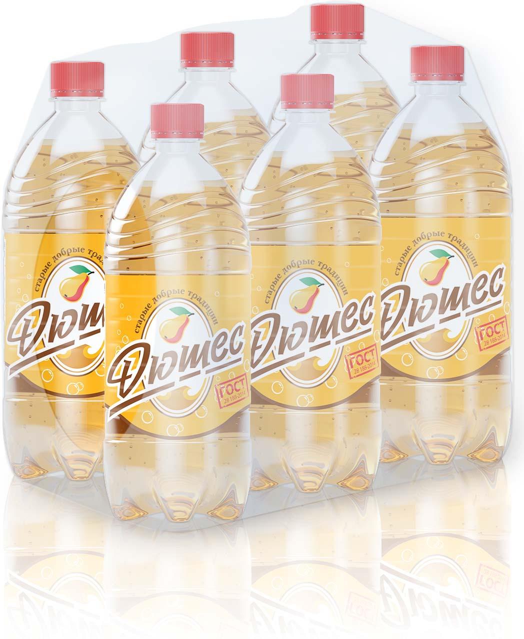 Лимонад Старые добрый традиции, дюшес, 6 шт по 1 л