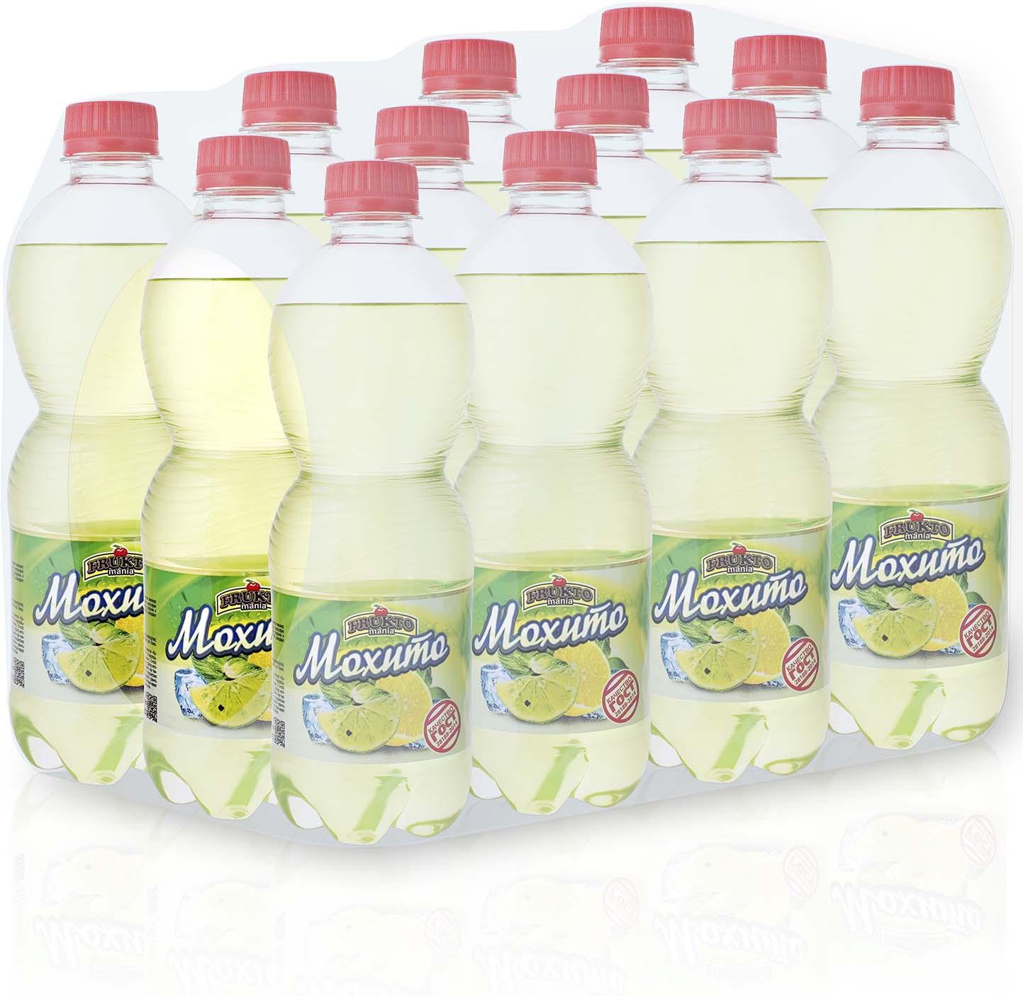 Лимонад Fruktomania, мохито, 12 шт по 0,5 л лимонад fruktomania дюшес 12 шт по 0 5 л