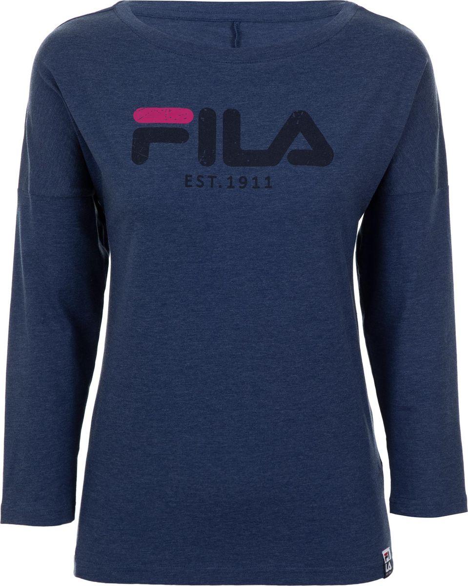 Лонгслив Fila футболка мужская fila men s t shirt цвет темно синий 100401 z4 размер xl 52
