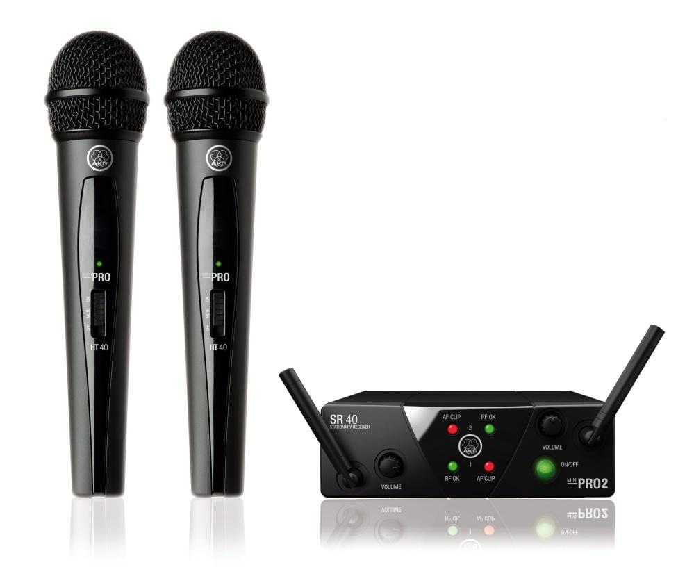 Микрофон akg WMS40 MINI2 VOCAL SET, US45AC