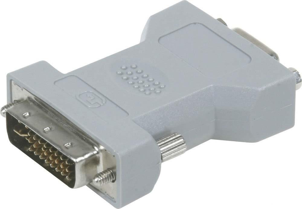 Адаптер-переходник Pro Legend VGA розетка - DVI-I вилка, PL1126, белый цена