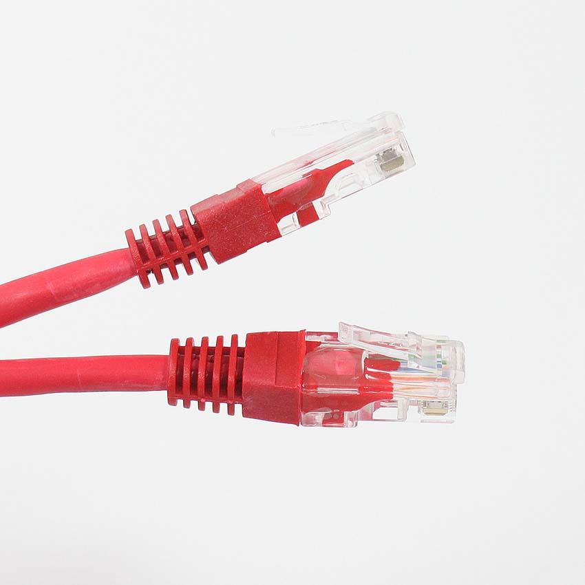 Кабель Pro Legend патчкорд UTP 5E RJ-45 - RJ-45, PL1241, красный, 1,5 м подключение ноутбука к компьютеру