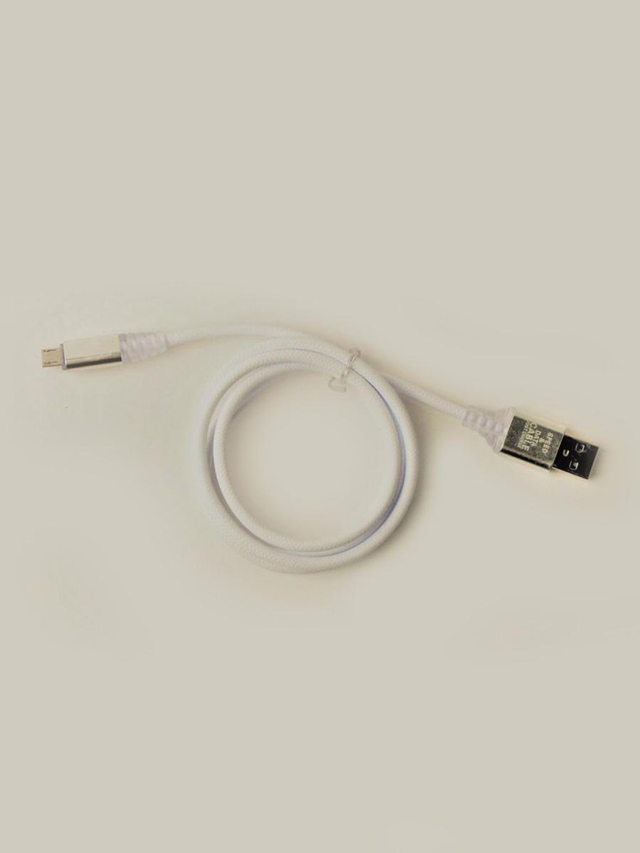 Кабель TipTop Кабель USB-micro USB_19, 4605180028170, белый кабель tiptop 202191023 4605180018126