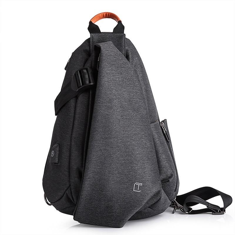 Сумка TANGCOOL TC901, 6934065525489, темно-серый сумка плечевая samsonite сумка плечевая paradiver light