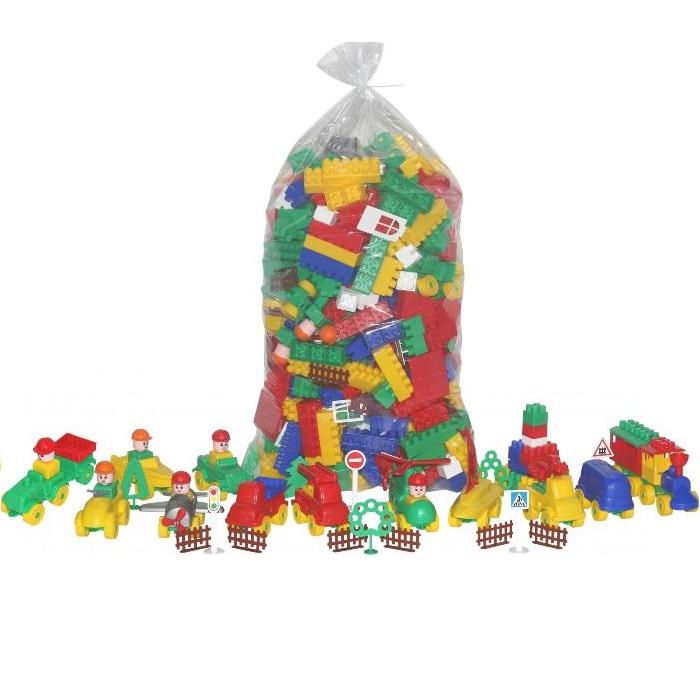 Пластиковый конструктор POLESIE Строитель, 52551_PLS