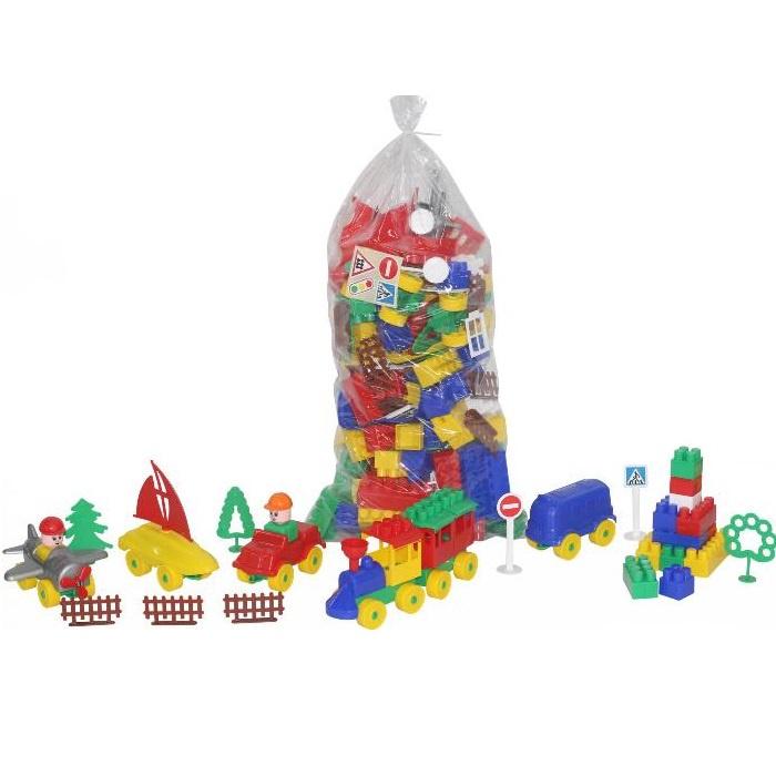 Пластиковый конструктор POLESIE Строитель, 52544_PLS