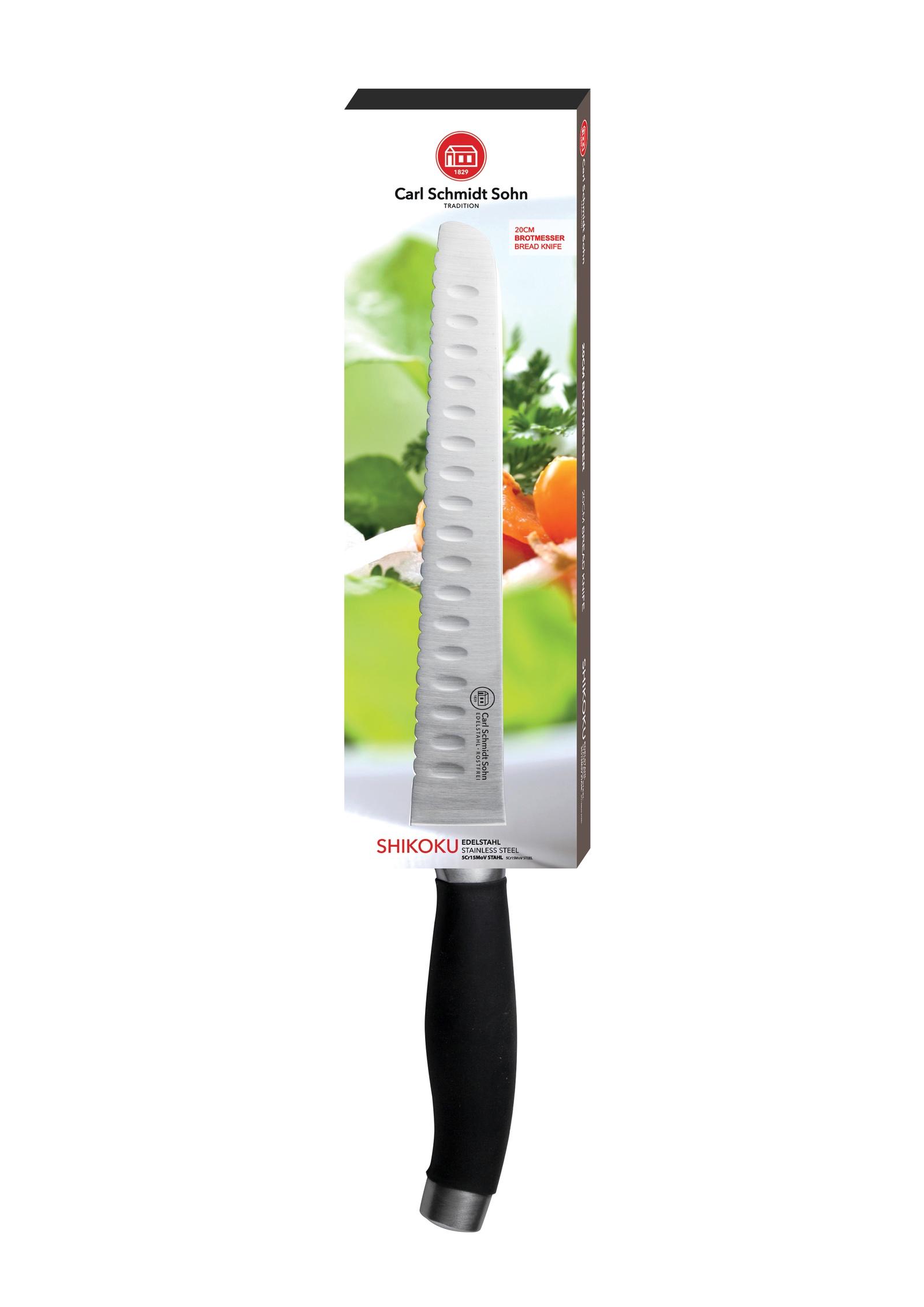 Кухонный нож CARL SCHMIDT SOHN CS020767, серебристый
