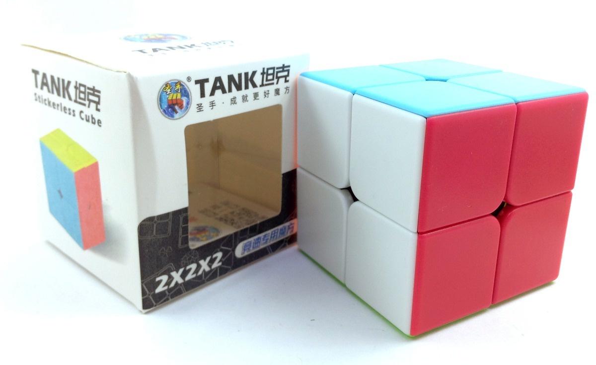 Головоломка ShengShou Скоростной Кубик 2x2x2 Tank (аналог головоломки кубик Рубика для скоростной сборки) dian sheng кубик рубика для соревнования развивающие игрушки ds 200