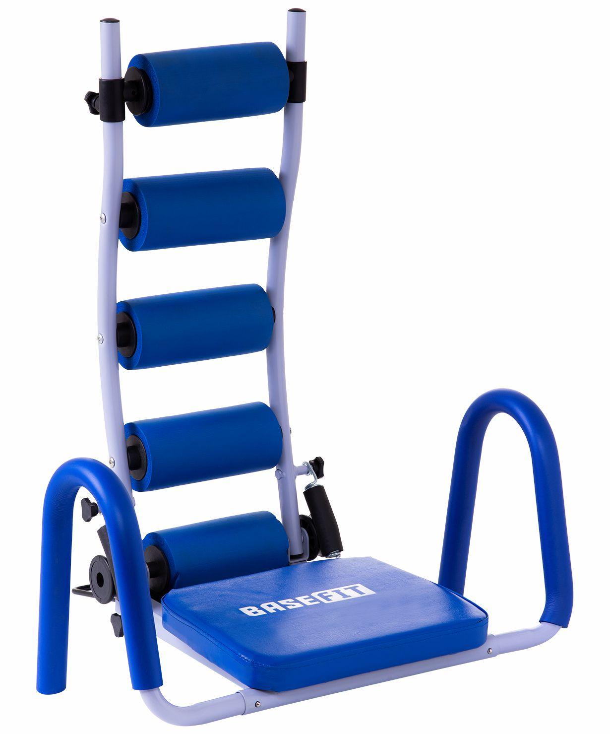 Тренажер для отдельных групп мышц BASEFIT AB Rocket, УТ-00012904, синий цена