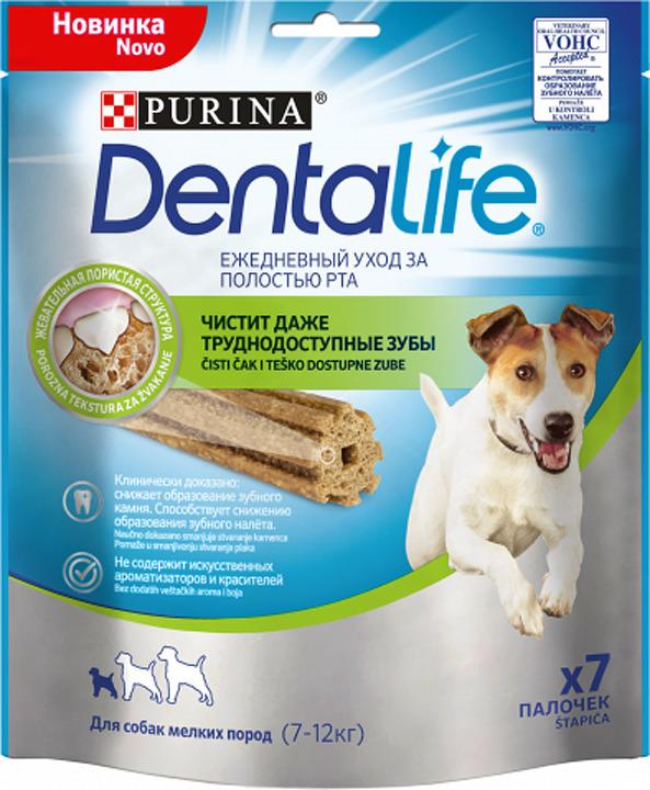 Лакомства для собак мелких пород DentaLife, 115 г