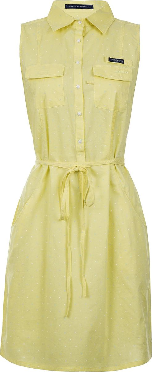 Платье Columbia Super Bonehead II Sleeveless Dress back split sleeveless womens dress
