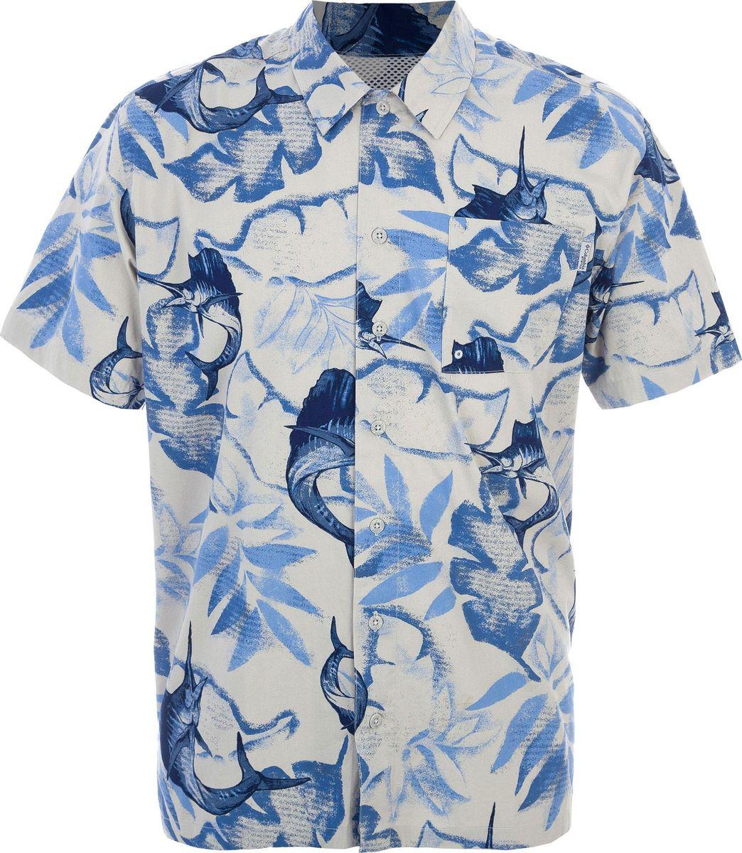 Рубашка Columbia рубашка мужская columbia tamiami ii ss shirt цвет бежевый 1287051 160 размер xl 52 54