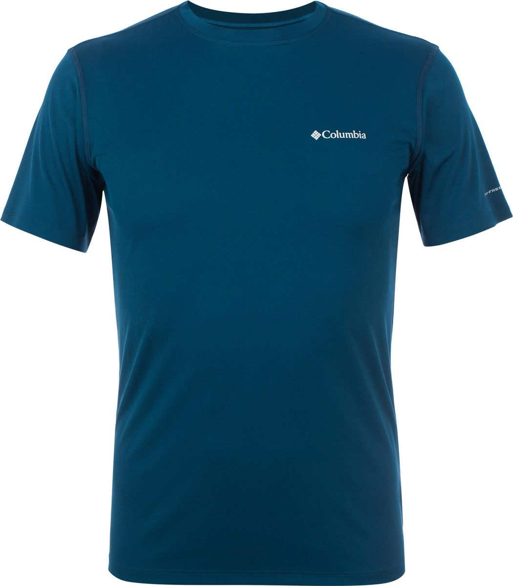 Футболка Columbia Zero Rules Short Sleeve Shirt рубашка мужская columbia katchor ii short sleeve shirt цвет голубой 1577778 440 размер xl 52 54