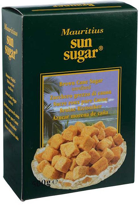 Сахар Diamant Sun Sugar тростниковый кусковой коричневый, 500 г