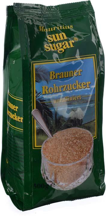 Сахар Diamant Sun Sugar тростниковый песок коричневый, 500 г