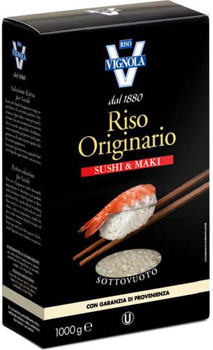 Рис Riso Vignola для суши, 1 кг riso nuvola арборио рис 1 кг