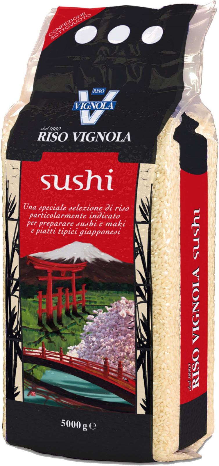 Рис Riso Vignola для суши, 5 кг riso nuvola арборио рис 1 кг
