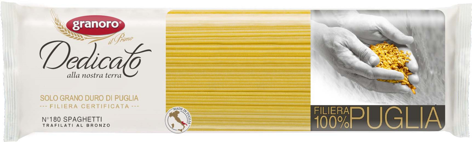 Макароны GranOro Спагетти №180, 500 г