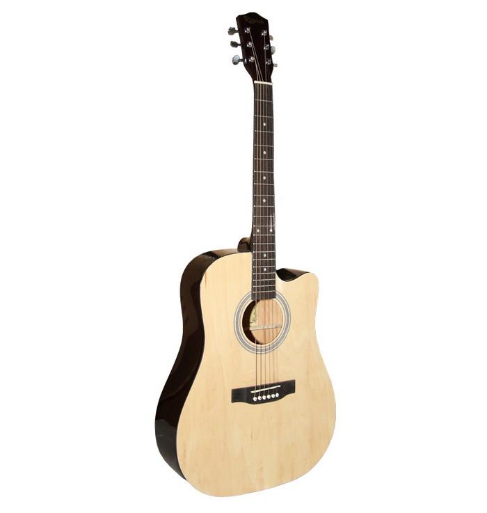 Акустическая гитара REGEIRA RD-410C/N, phm410N, светло-коричневый имитация жизни
