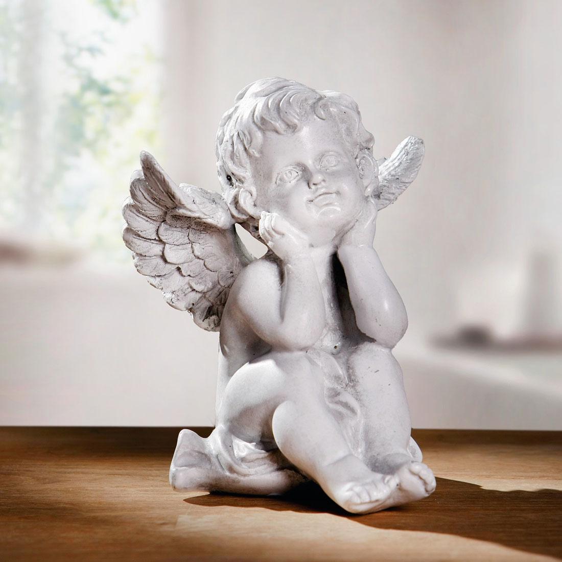 Фигурка декоративная ХИТ - декор Ангелочек, 06668, 06668 декор ceramica classic tile water dec 3 40x20