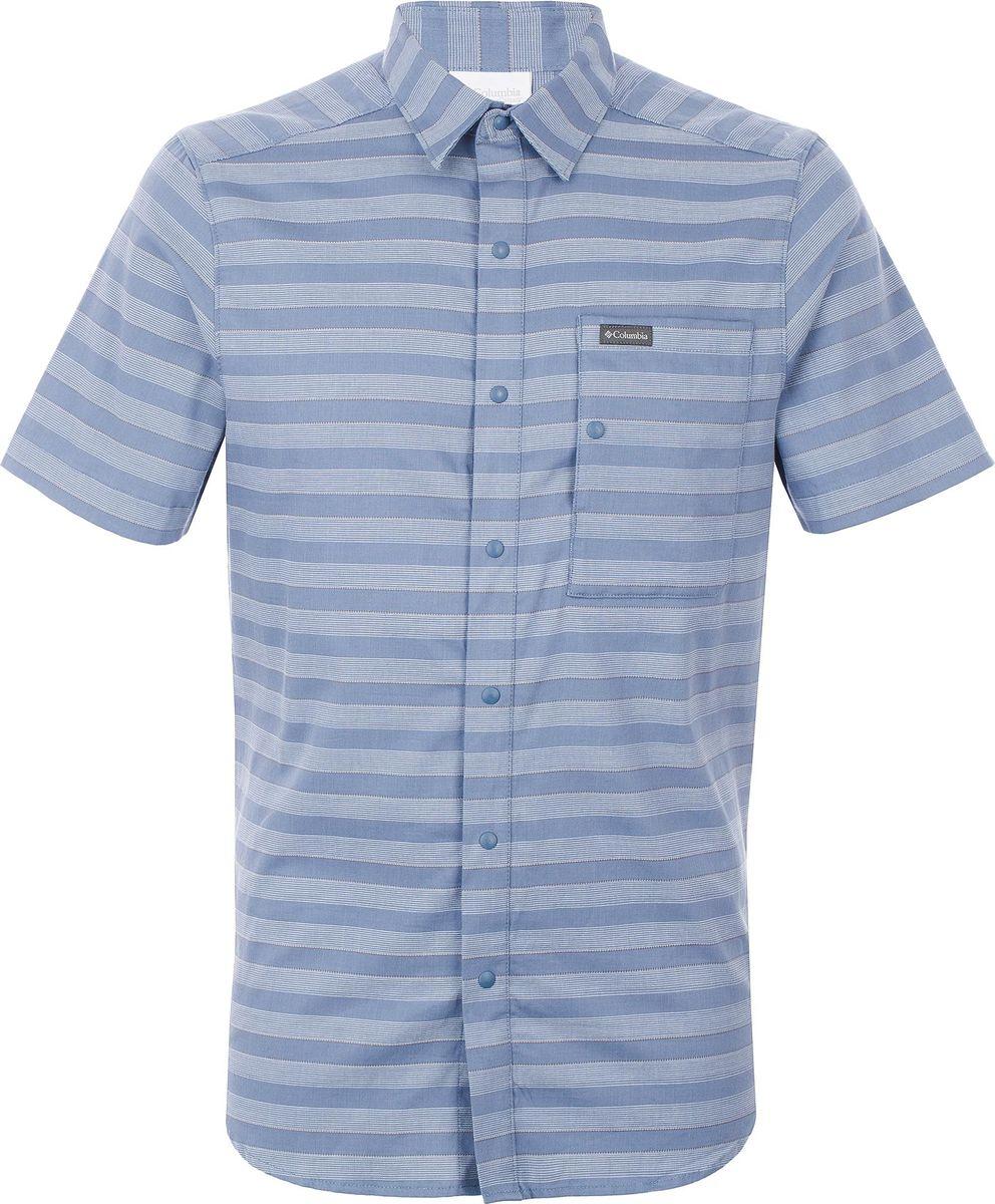 Рубашка Columbia Shoals Point Short Sleeve Shirt рубашка мужская columbia katchor ii short sleeve shirt цвет голубой 1577778 440 размер xl 52 54