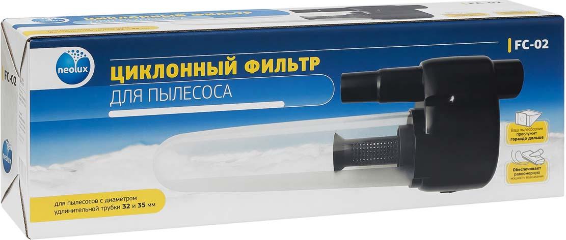 Neolux FC-02 фильтр циклонный neolux flg 89 набор моторных фильтров для пылесоса lg