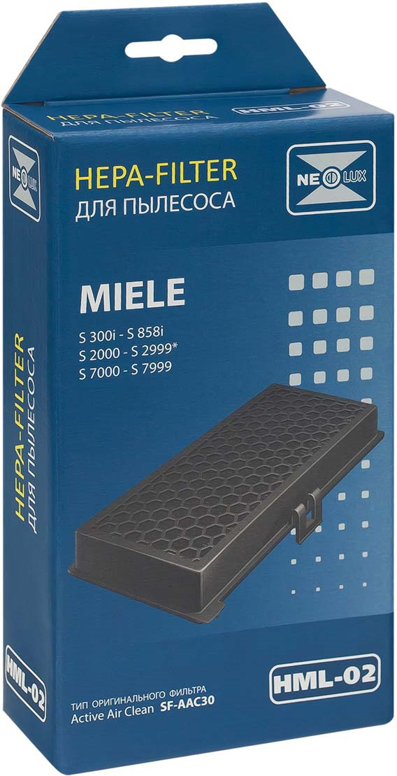 Neolux HML-02 HEPA-фильтр для пылесоса Miele цена 2017