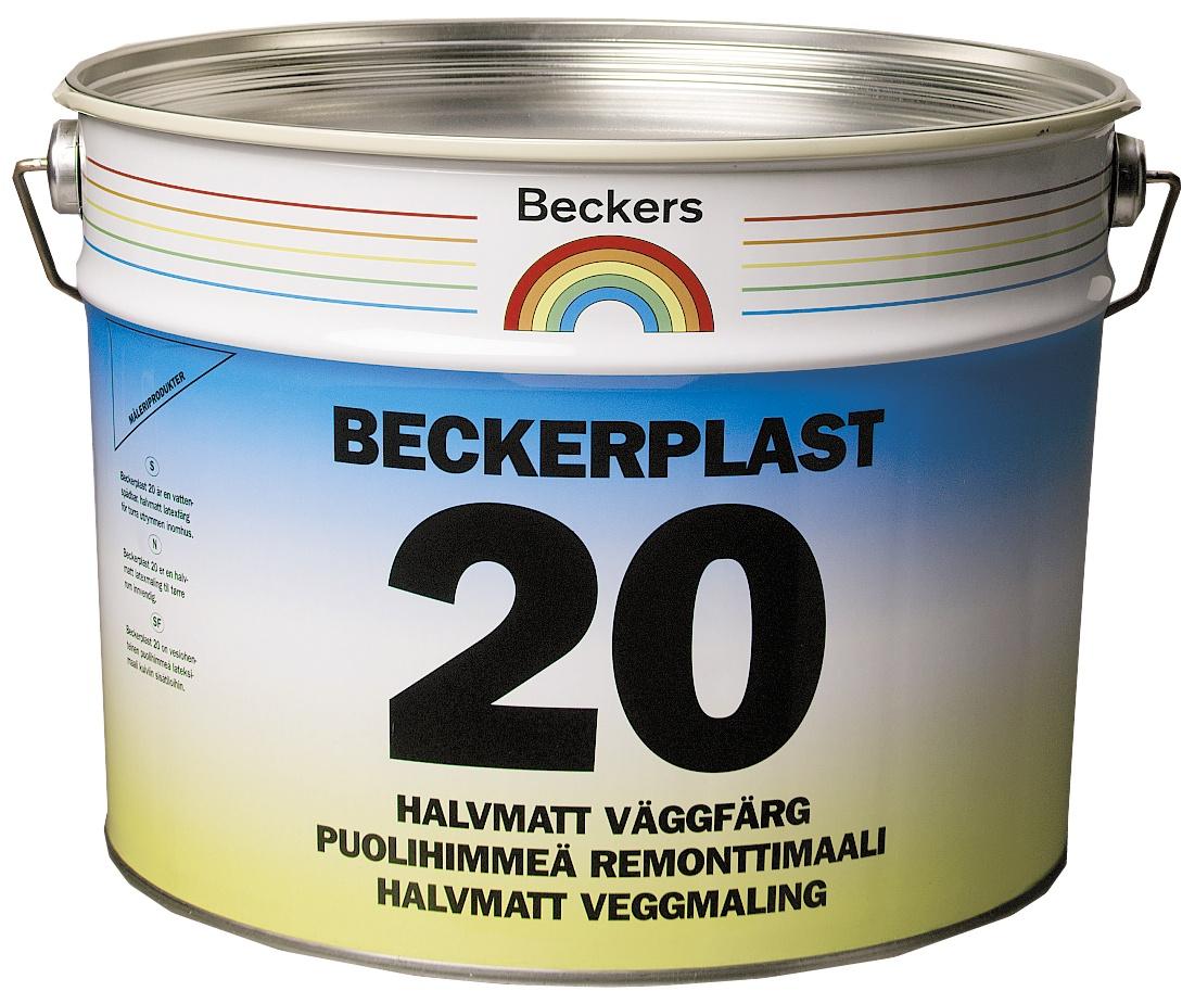 Фото - Краска BECKERS BECKERPLAST 20 A п/мат 9л, 050045 стикеры для стен zooyoo1208 zypa 1208 nn