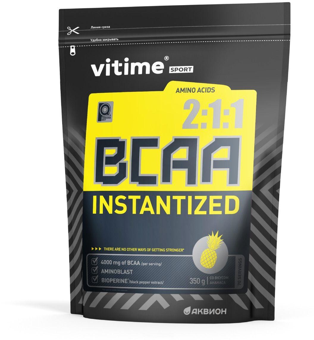 Аминокислотный комплекс Vitime BCAA со вкусом ананас