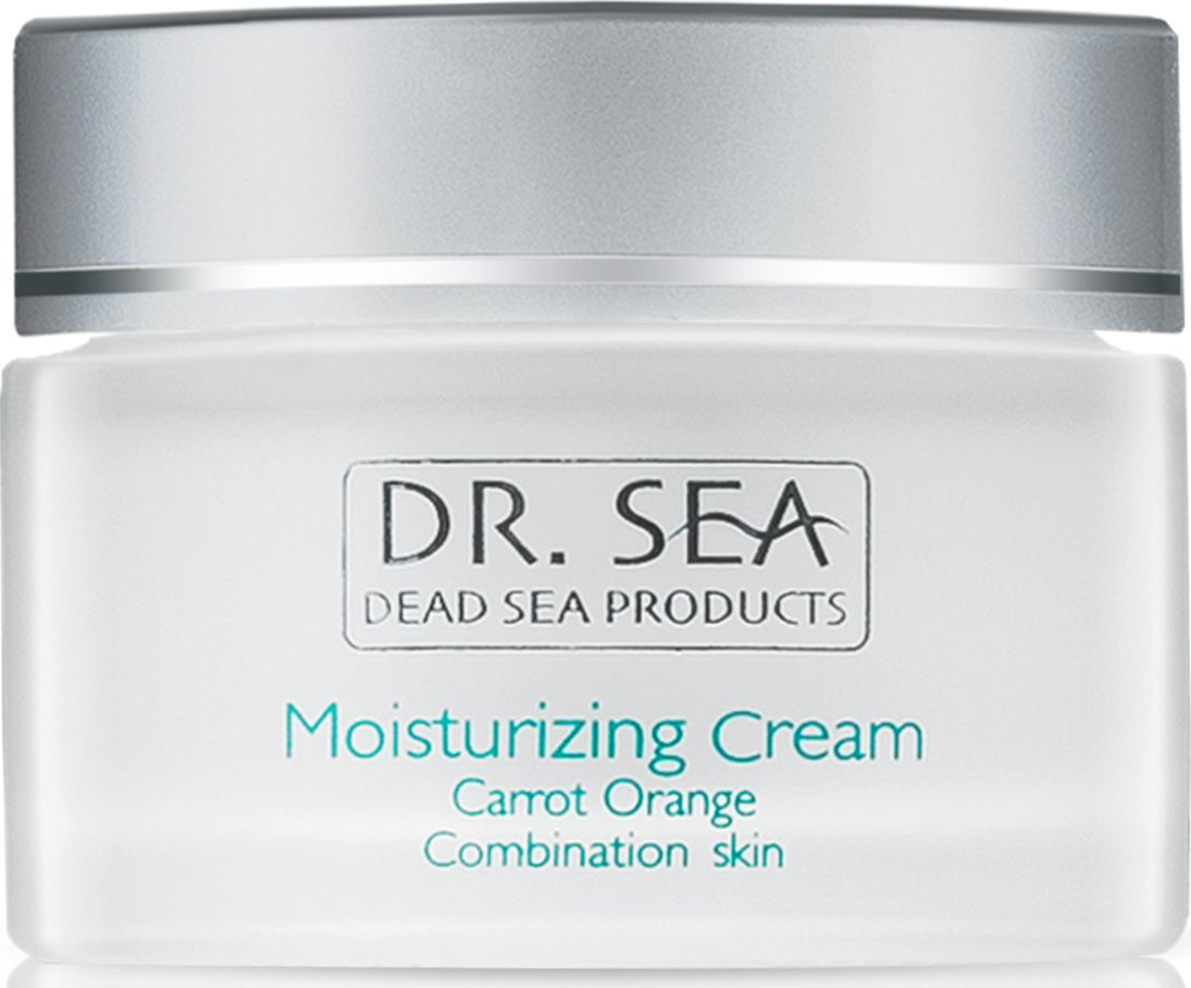Увлажняющий крем Dr.  Sea, с маслами семян моркови и экстрактом апельсина, день, для нормальной и комбинированной кожи, 50 мл Dr. Sea