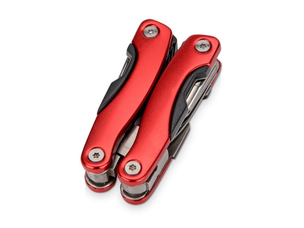 Мультитул Oasis «Путешественник», 497851, красный497851Универсальный инструмент пригодится и при поломке автомобиля на трассе, и в условиях похода. Небольшой размер, малый вес и чехол в комплекте, позволяют носить его на ремне брюк.