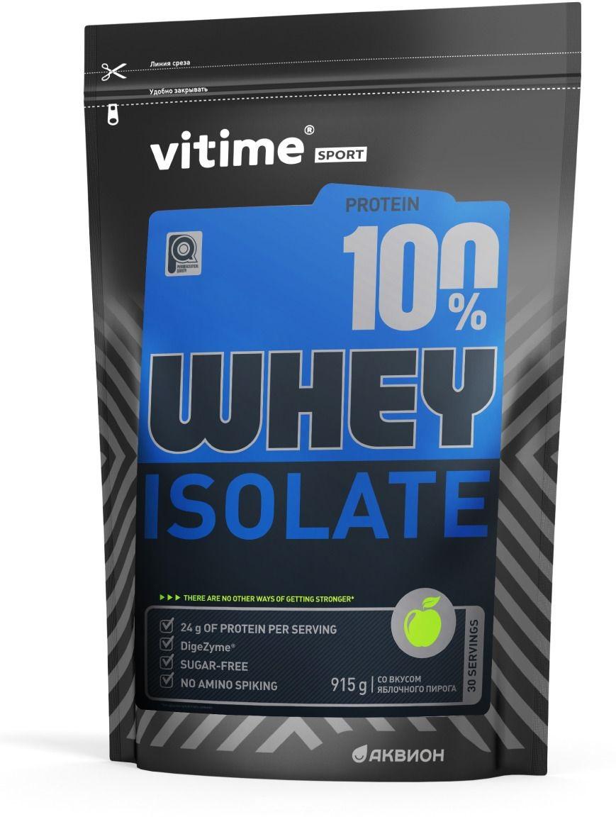 Протеин Vitime Whey Protein со вкусом яблочного пирога протеин vitime whey protein ваниль 915 г