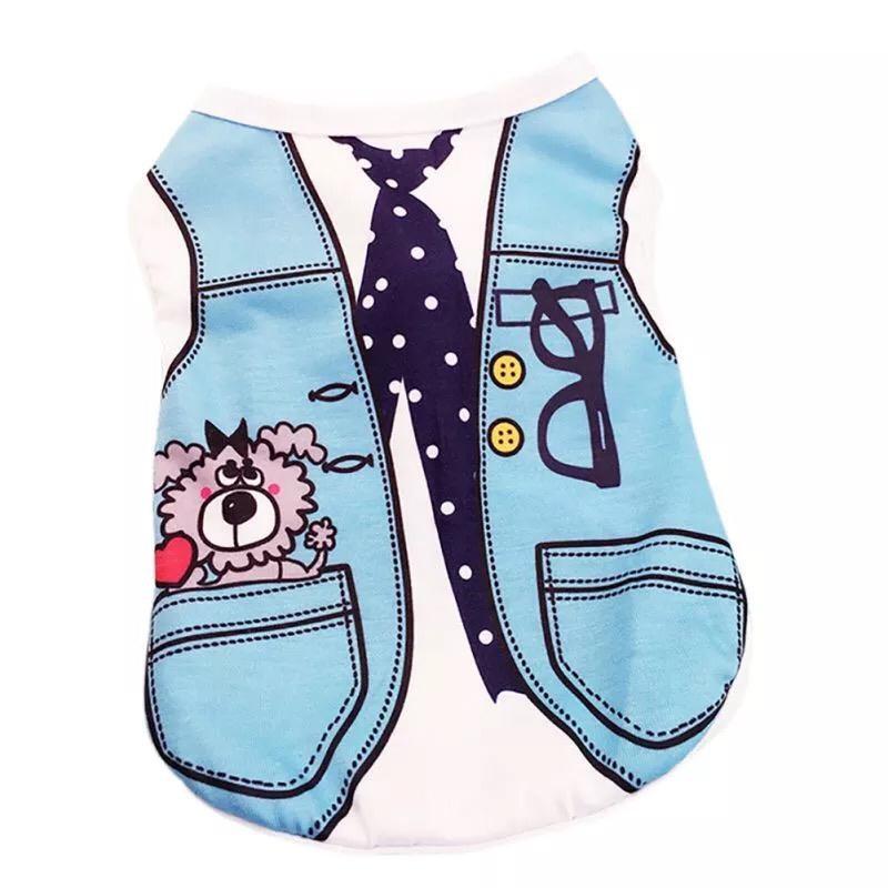 Одежда для собак Arnydog.ru Майка Жилеточка GGS-1-8_S, голубой