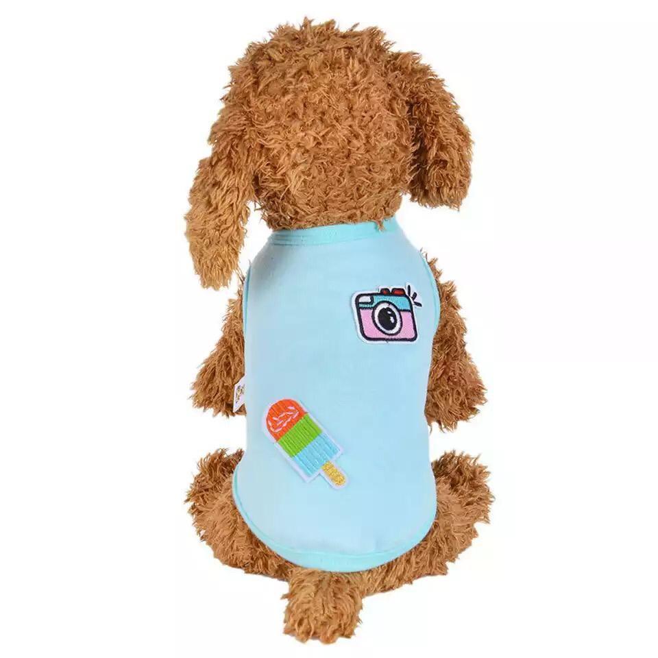 Одежда для собак Arnydog.ru Майка Инстаграмм ARN003_8#, голубой