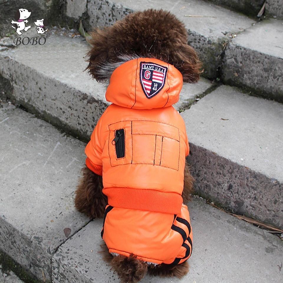 Одежда для собак Arnydog.ru Зимний комбинезон Спорт оранжевый BO-W153026-2_S, оранжевый